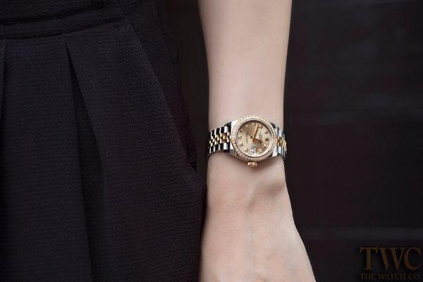 骨格診断ウェーブ体型に似合う時計