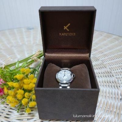 レンタルしたカルティエの腕時計が届きました リアル口コミ